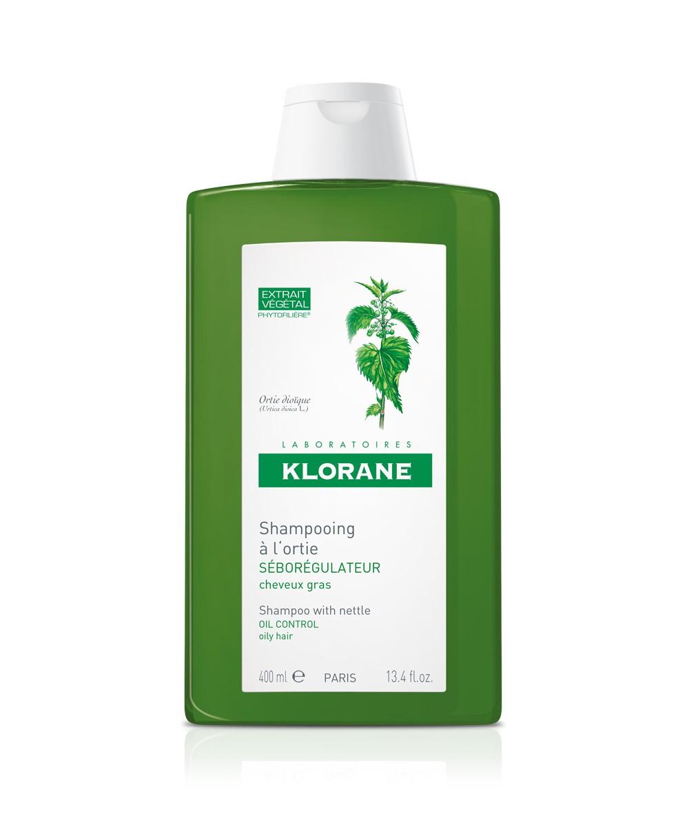 Klorane 蔻蘿蘭蕁麻清爽控油洗髮水400ml