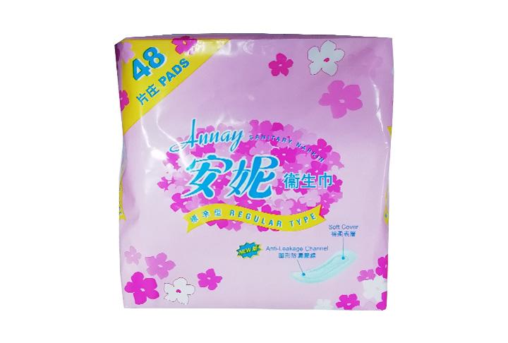 ANNAY REGULAR TYPE 48'S 安妮衛生巾