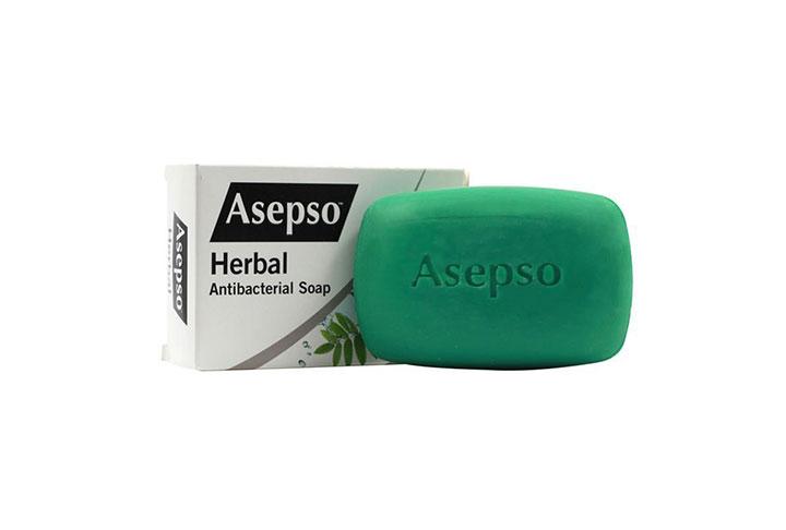 Asepso 安施露草本抑菌潔膚皂 150克