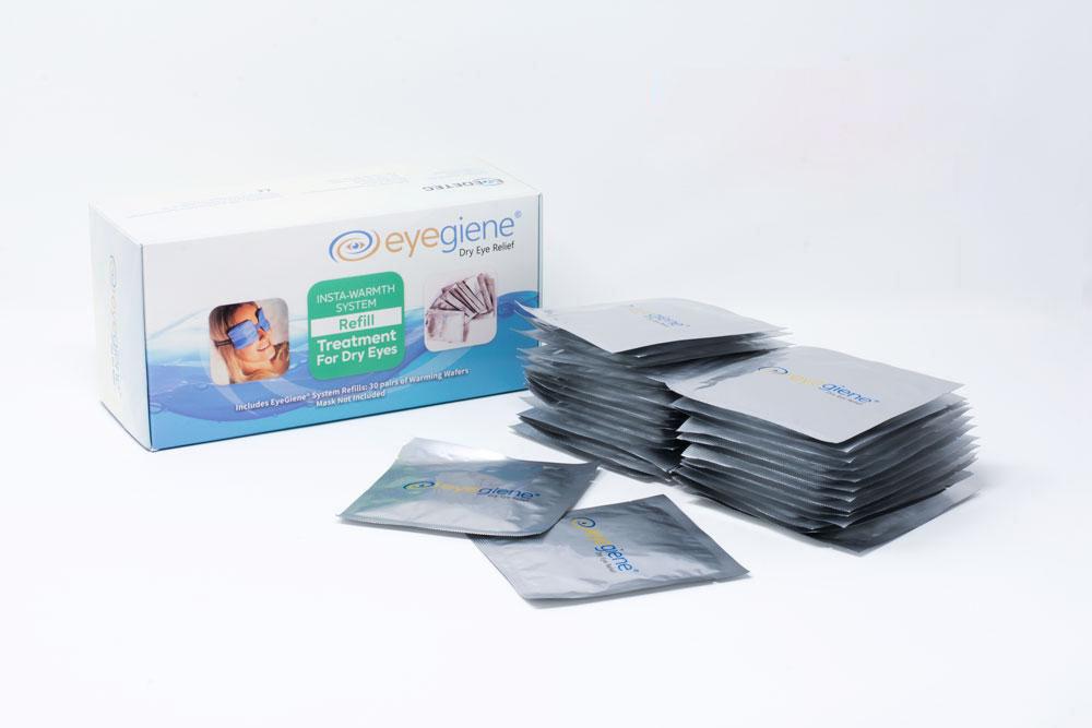 【9折】EyeGiene Refill Pack 即暖發熱眼罩補充裝 (內附30對發熱貼)