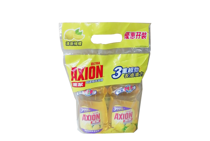 AXION 滴潔洗潔精孖裝 檸檬 1L