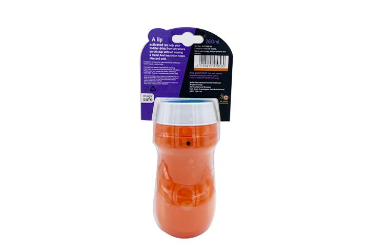 Tommee Tippee TT 360保凍學習杯 260ml (橙色)