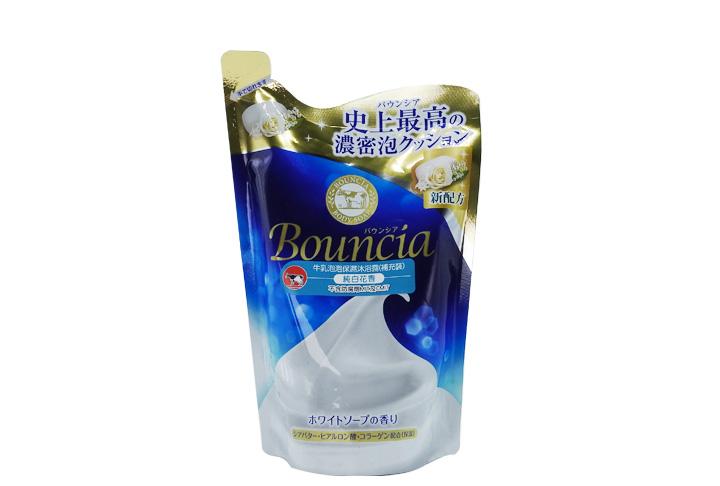 牛乳泡泡保濕沐浴露(瑰麗花香味)補充裝  430毫升
