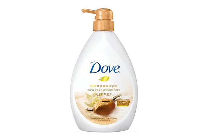 Dove 多芬豐盈寵愛沐浴乳 750ml (乳木果與暖香草)