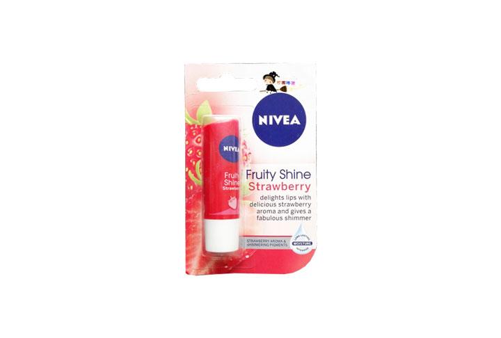 NIVEA 妮維雅士多啤梨潤唇膏  4.8克