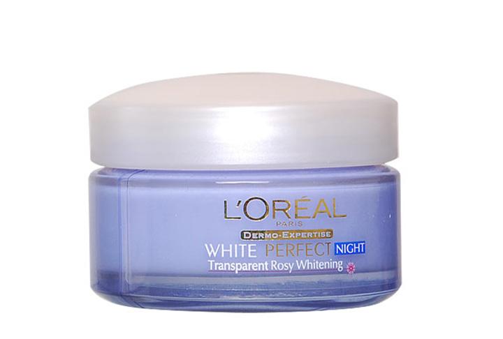 Loreal 歐萊雅完美淨白夜間修護乳霜50毫升